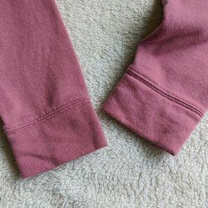 PINK Victoria's Secret Tops - Victoria's Secret PINK Half Zip Up Sweatshirt